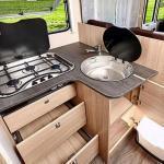 Wohnmobil Sunlight I 68: Die Küche