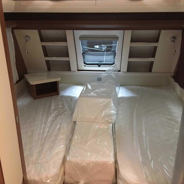 Schlafbereich Caravan Hobby 495-UL